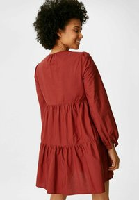 C&A - Day dress - brown - 1