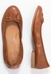 Tamaris - Ballet pumps - cognac - 3