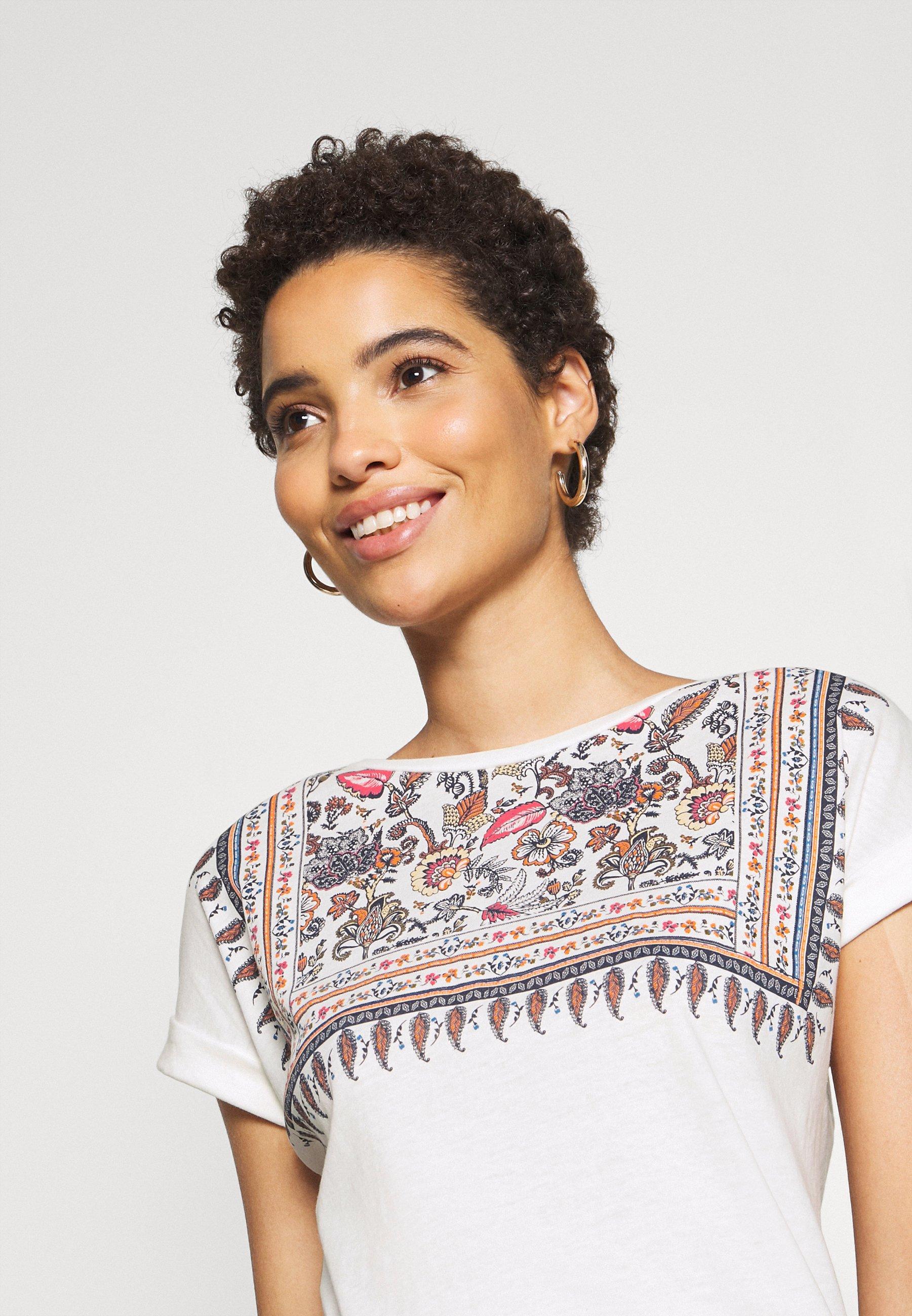Springfield Grafico Arizona - T-shirts Med Print White/flerfarget