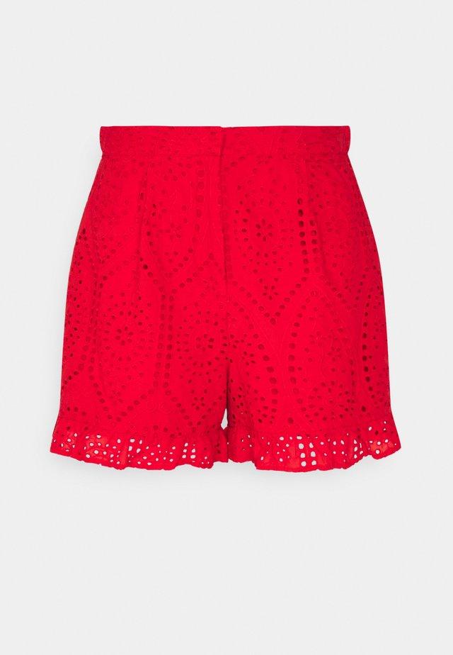 YASJOSEFINE  - Shorts - high risk red
