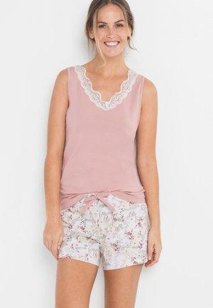 MIT SPITZE  - Pyjama - rosa