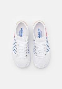 adidas Originals - DELPALA SHOES - Matalavartiset tennarit - footwear white/scarlet/royal blue - 3