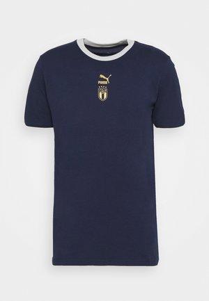 ITALIEN FIGC TEE - Voetbalshirt - Land - peacoat/team power blue