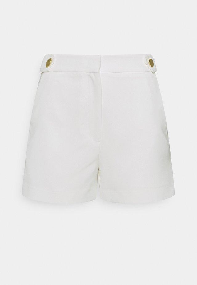 ARIA CADY BUTTON - Shorts - ecru