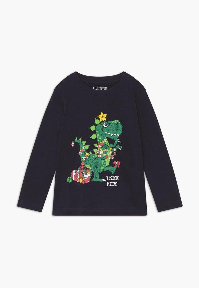 KIDS CHRISTMAS - Long sleeved top - nachtblau