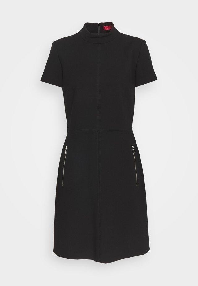 KOWERA - Shift dress - black