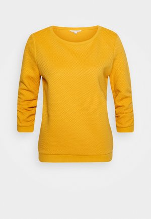 STRUCTURED - Bluza - indian spice yellow