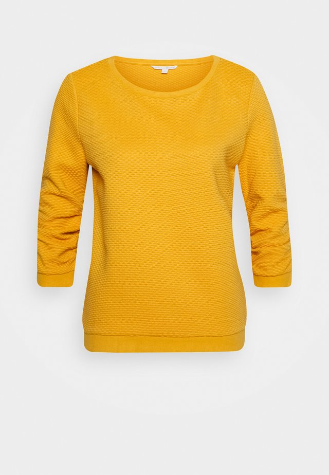 STRUCTURED - Sweatshirt - indian spice yellow