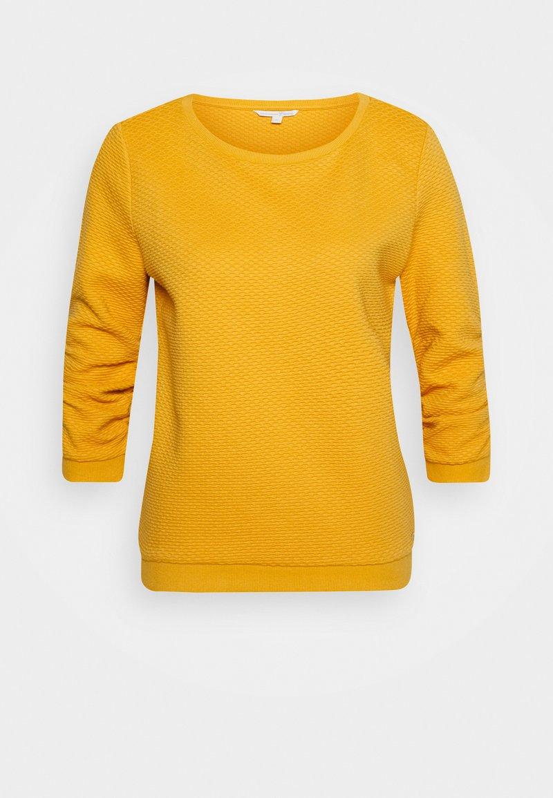 TOM TAILOR DENIM - STRUCTURED - Sweatshirt - indian spice yellow