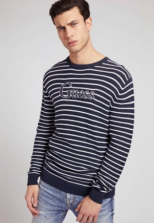LOGO  - Pullover - blue