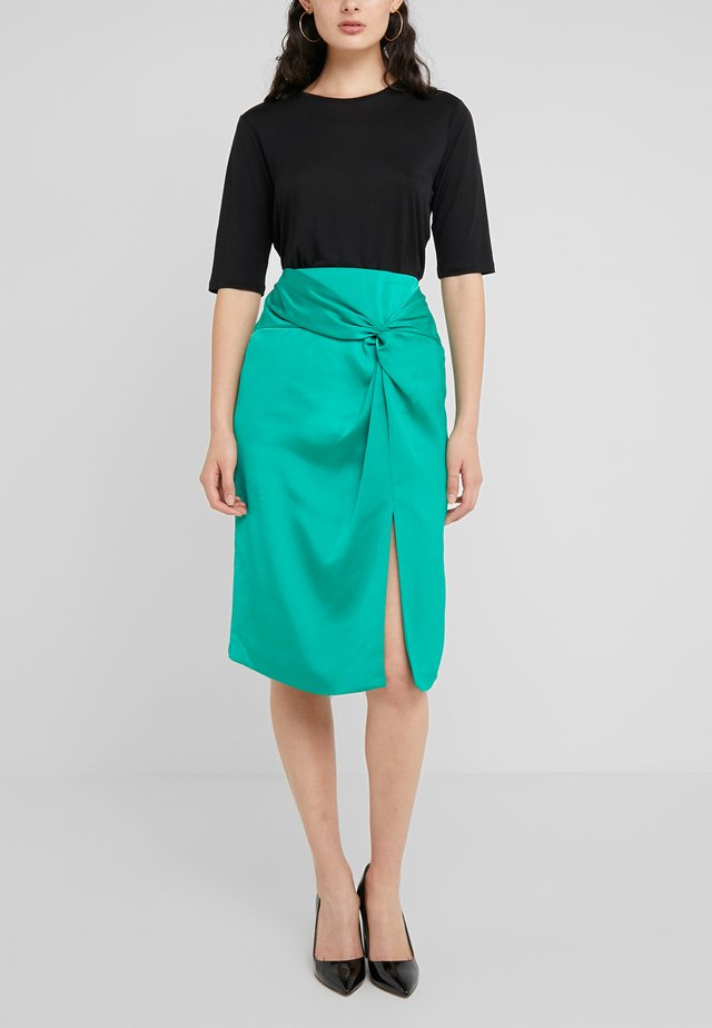 WINTA SKIRT - Pencil skirt - emerald