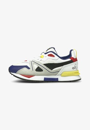 Trainers - white-elektro blue