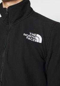 The North Face - ICE FLOE JACKET - Fleecetröja - black - 5