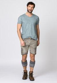 Stockerpoint - ALOIS - Shorts - rauch geäscht - 1