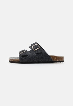 BIACAS  - Pantoffels - black