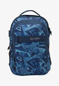 Fabrizio - BEST WAY BACKPACK - Školní taška - teal/navy blue - 1
