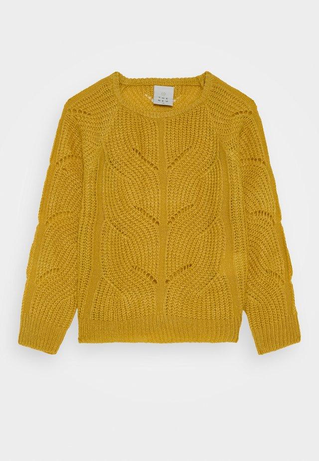 RIVER - Stickad tröja - sauterne