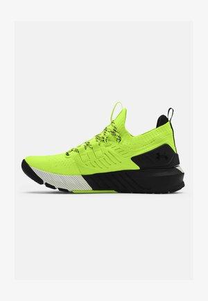 PROJECT ROCK 3 UNISEX - Sportovní boty - yellow