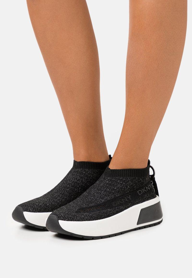 DKNY - DRAYA SLIP ON  - Trainers - black