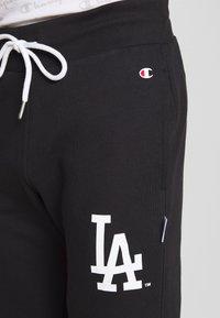 Champion - MLB LA DODGERS CUFF PANTS - Klubbkläder - dark blue - 4