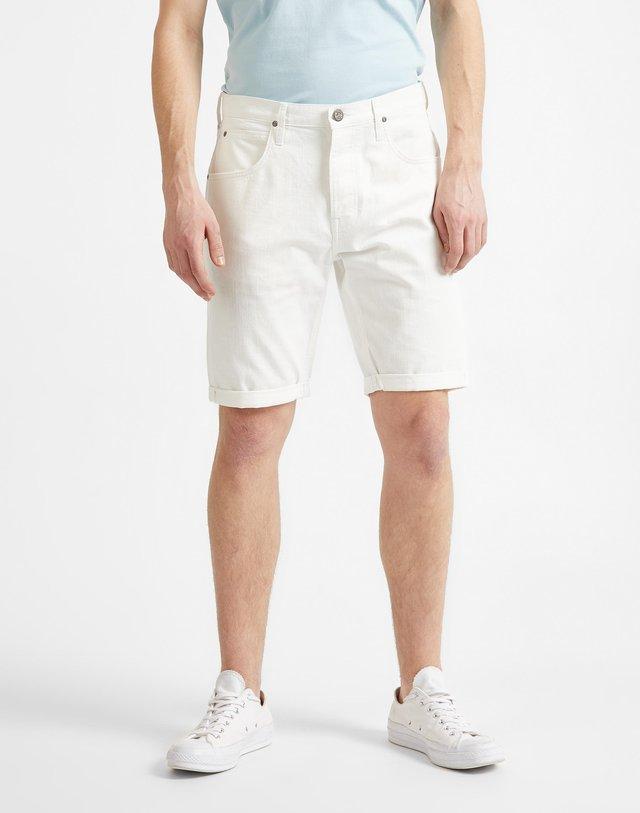 Denim shorts - buttercream