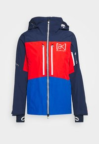 GORE SWASH - Snowboard jacket - dress blue/flame scarlet