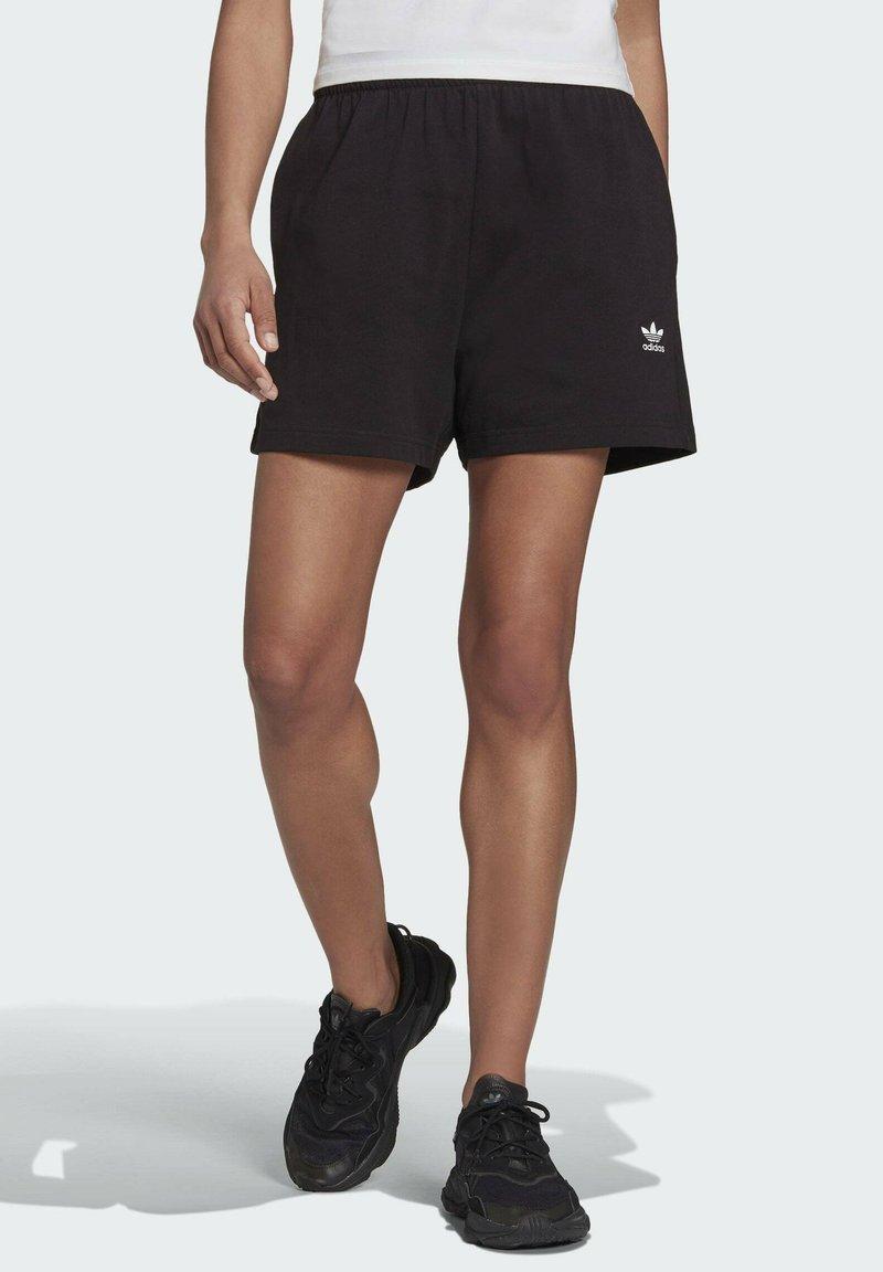 adidas Originals - ADICOLOR ESSENTIALS  - Pantaloni sportivi - black