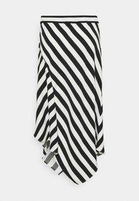 Lauren Ralph Lauren - HANIF SKIRT - A-line skirt - white/black - 1