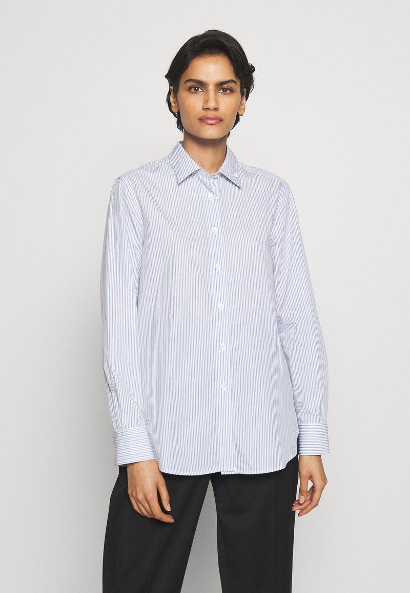 Filippa K - JANE  - Button-down blouse - blue heaven/white