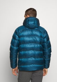 Patagonia - FITZ ROY HOODY - Down jacket - crater blue - 2