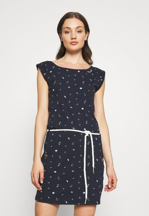 TAG - Jersey dress - navy