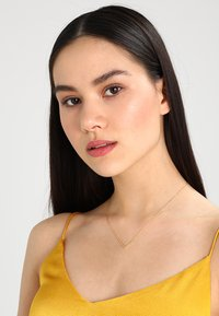 Orelia - CLEAN V NECKLACE - Collar - pale gold-coloured - 1