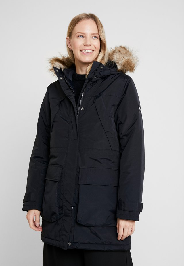 HILLSIDE - Winter coat - black