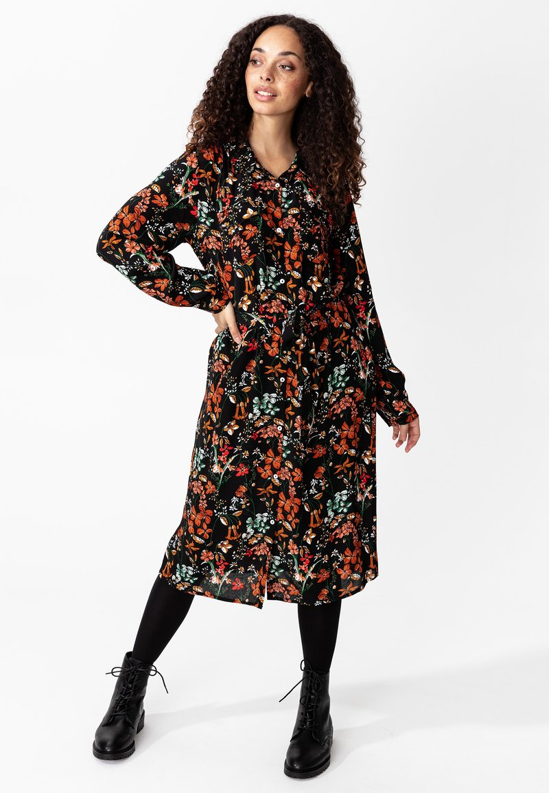 Indiska - Shirt dress - black