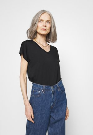 MARICA - Basic T-shirt - schwarz