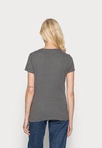 GAP - FRANCHISE TEE 2 PACK - T-shirt print - white red - 2