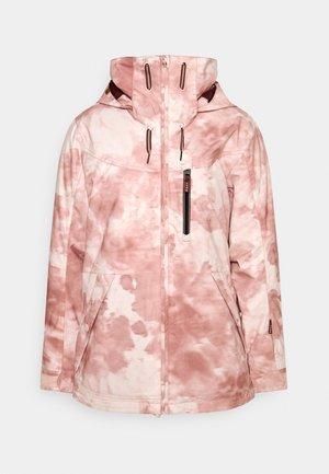 PRESENCE - Snowboardová bunda - silver pink