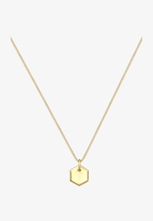 HEXAGON - Collana - gold-coloured