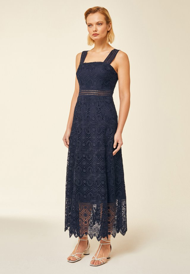 Robe longue - navy blue