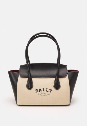BALLY SOMMET - Handbag - natura/black