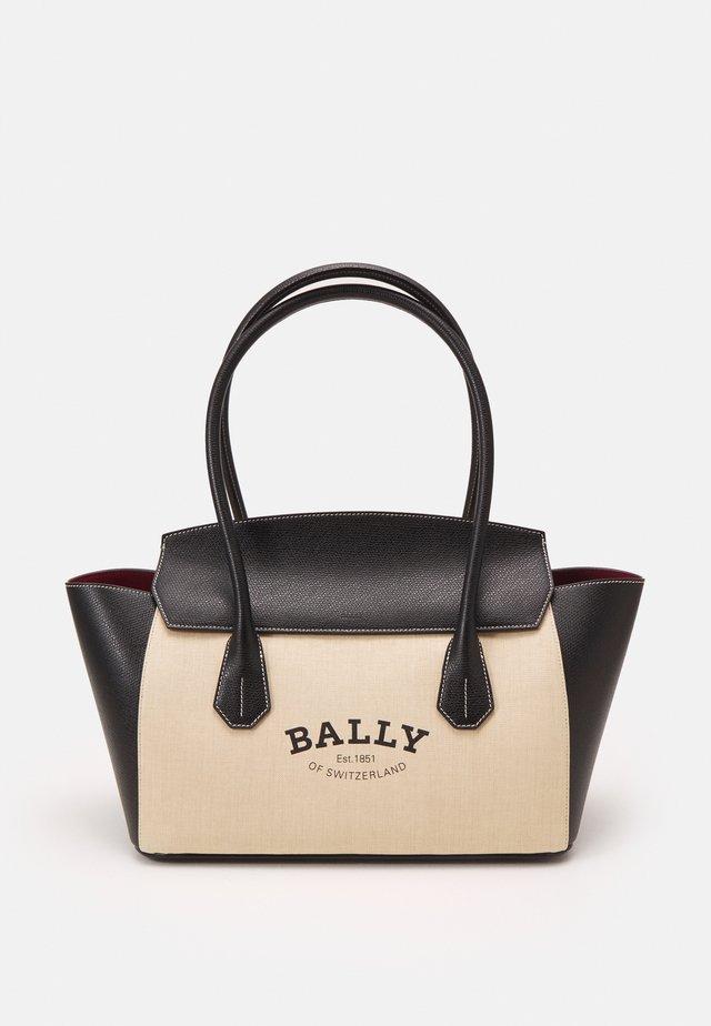 BALLY SOMMET - Sac à main - natura/black