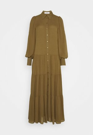 MAXI - Košilové šaty - beech