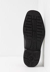ECCO - Elegantní šněrovací boty - black - 4