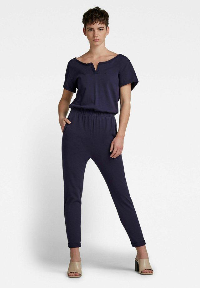 COCAUX  - Jumpsuit - sartho blue