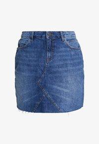 Noisy May - NMAYLA SHORT SKIRT - Minifalda - medium blue denim - 4