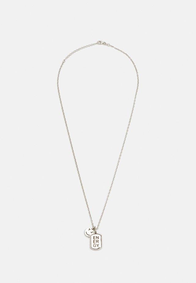 ENERGY ICON UNISEX - Ketting - silver-coloured