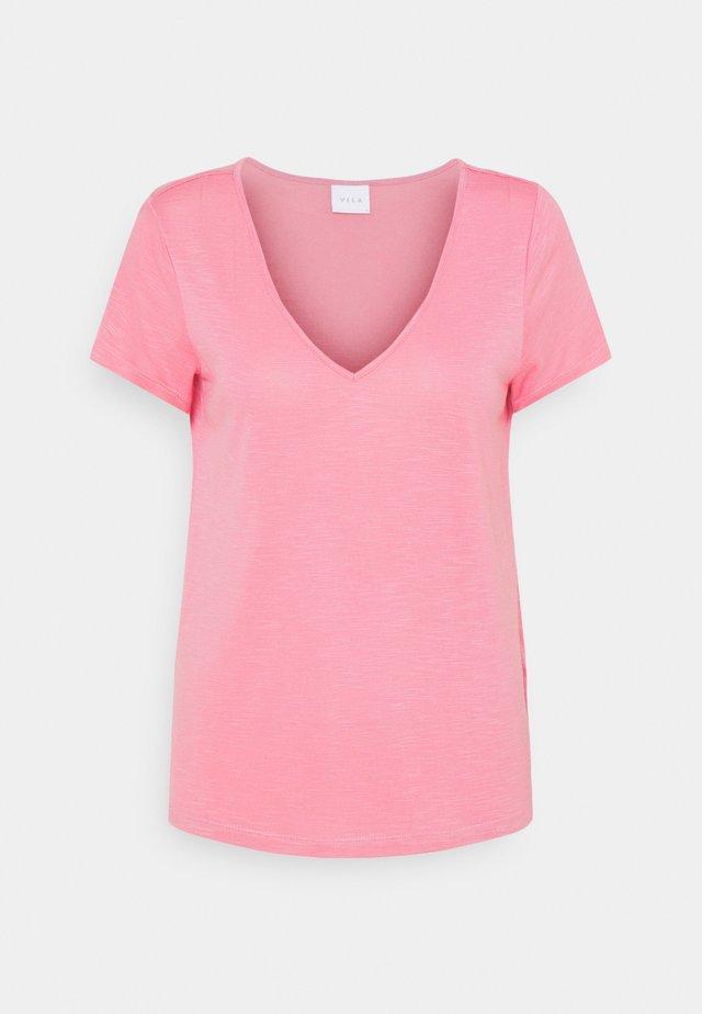 T-shirt basic - wild rose