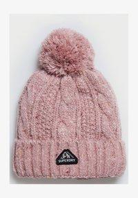 Superdry - GRACIE  - Beanie - candy tweed pink - 1
