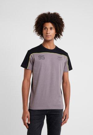 MULTI TEE - T-shirt imprimé - grey/black