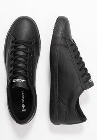 Lacoste - LEROND - Sneakersy niskie - black - 1